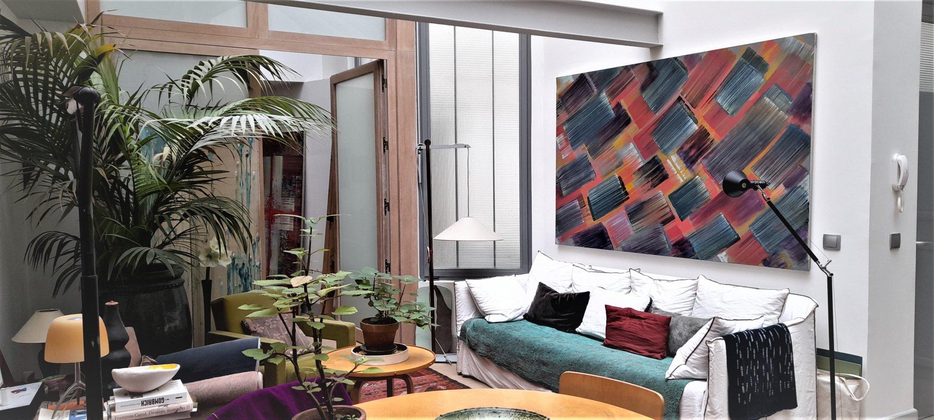 Loft à Saint-Germain-des-Prés.