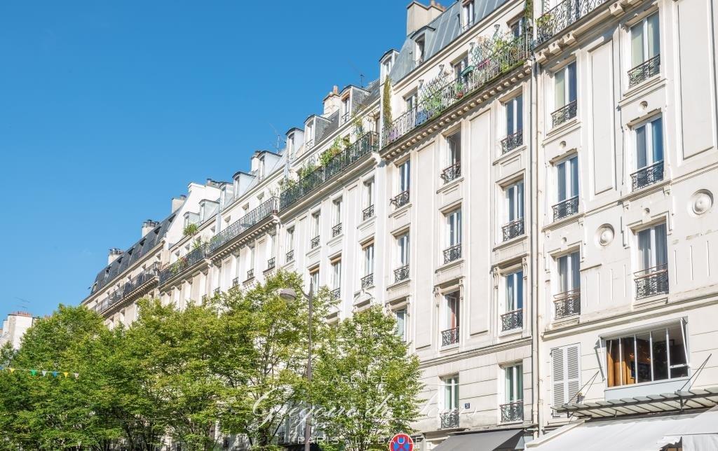 Paris 5ème, Mouffetard-Saint Médard, appartement 3 pièces avec j
